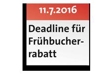 Kalenderblatt-Frühbucher